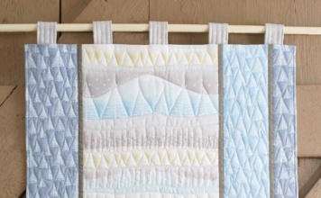 Quilt in warme wintersfeer